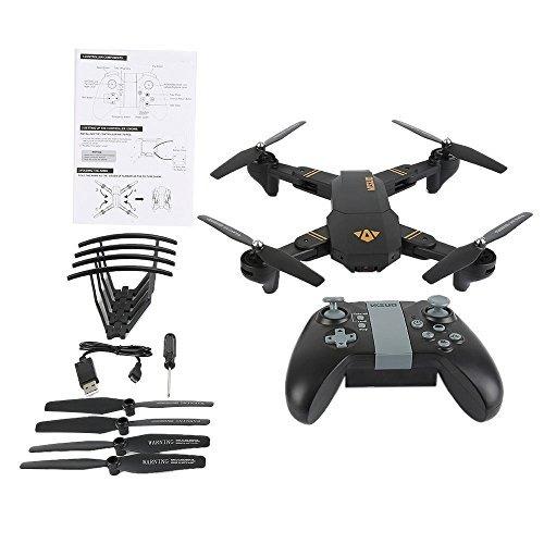 gordve rc drone ruta de vuelo plegable fpv vr wifi rc quadc