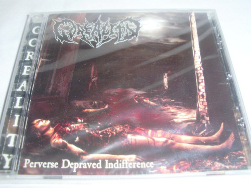 goreality - perverse depraved indifference ( brutal death me