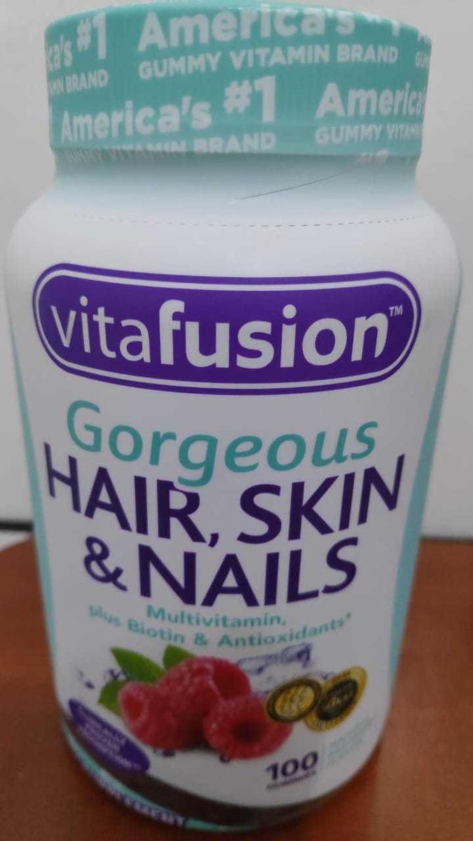 Vitafusion Gorgeous Hair Skin And Nails 63