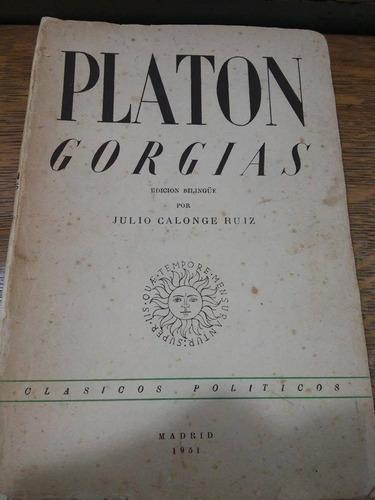 gorgias (edicion bilingue) - platon