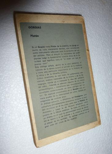 gorgias _ platon - eudeba / trad: angel cappelletti