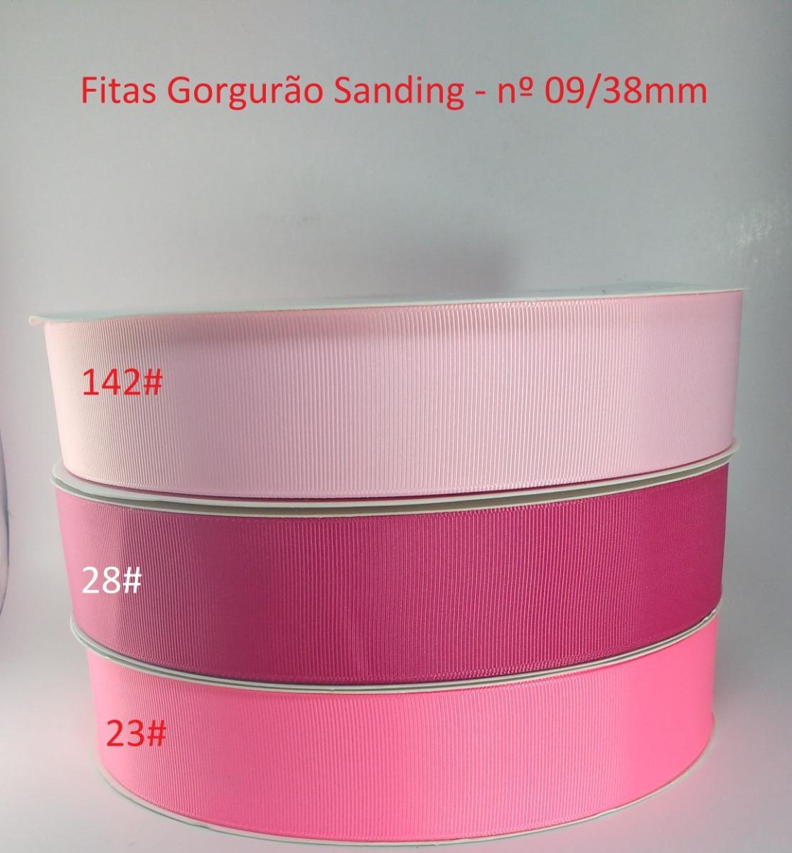 1e00f72e9 Gorgorão Importada Sanding 09 38mm - Kit 65 Metros (5m cor) - R  88 ...
