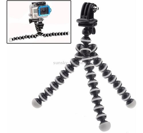gorilapod mini tripé flexível tripod gopro hero 7 6 5 4 3+ 3