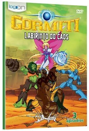 gormiti - labirinto do caos - dvd - sam riegel - henry banks