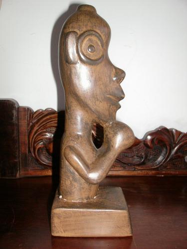 (gorpley) antiga escultura africana em ceramica