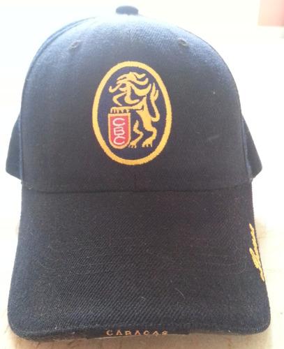 gorra 100% oficial leones del caracas adulto 7 1/4 --  leer