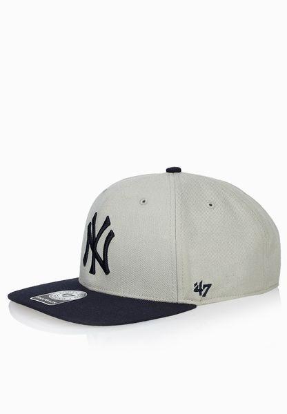 Gorra 47 Brand Mlb New York Yankees Captain Snapback Gris ng ... d19878e5488
