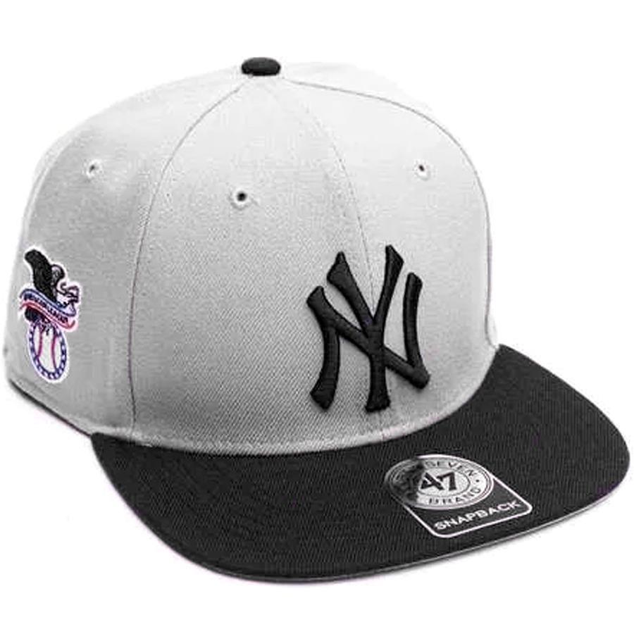 73fd2067195 ... mlb new york yankees captain snapback gris ng. Cargando zoom.