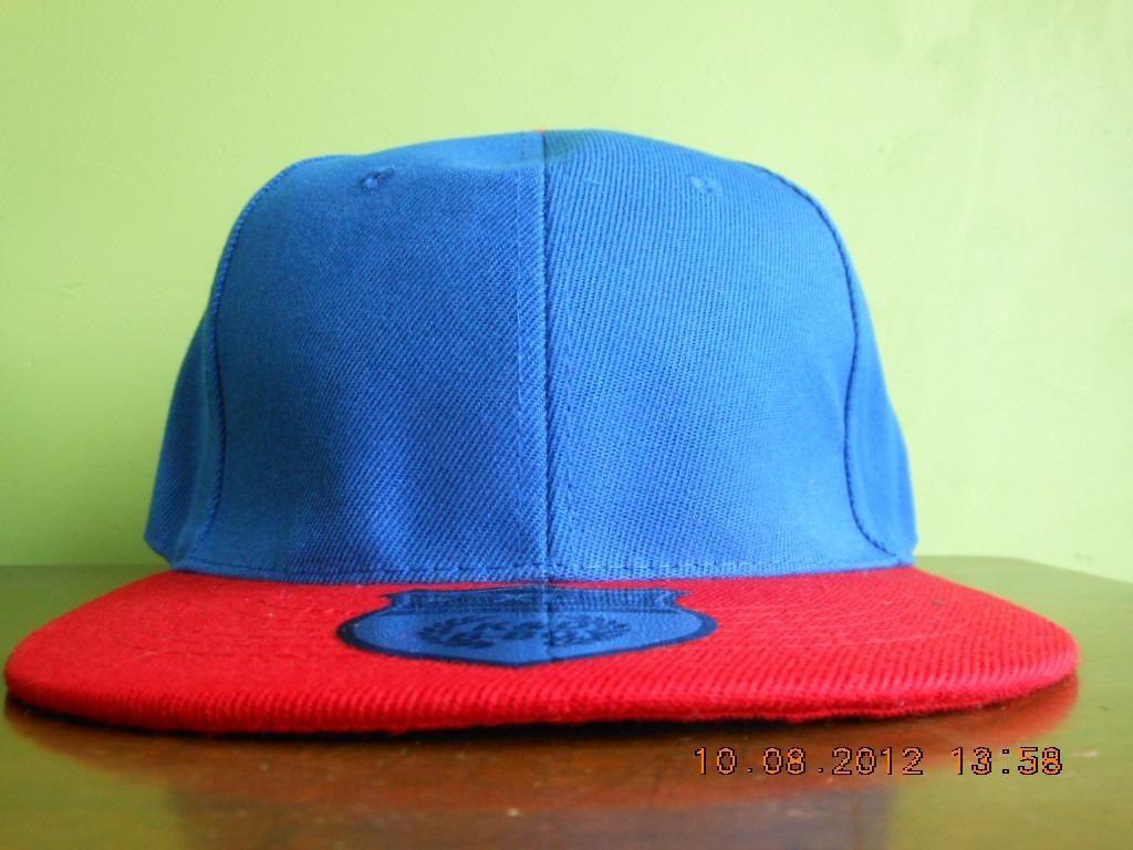 Gorra 7 1 4 Azul Rey Y Rojo K d Visera Plana -   174.40 en Mercado Libre b59a40d181c