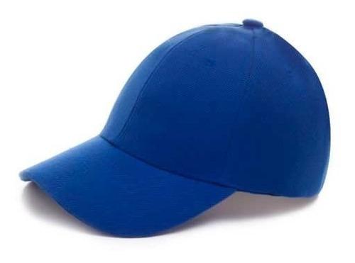 gorra acrilico bordado serigrafia 6 gajos promocion