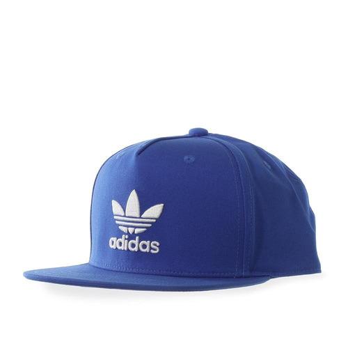gorra adidas ac tre flat - bk7319 - azul - unisex