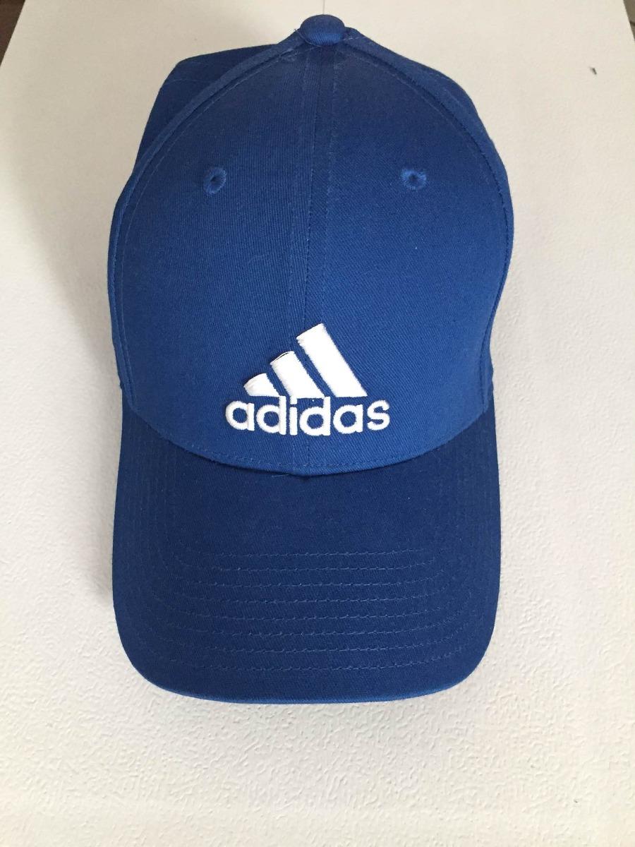 fd8ab73f40b Gorra adidas Azul Unisex Mod. Perf Cap Nueva -   250.00 en Mercado Libre