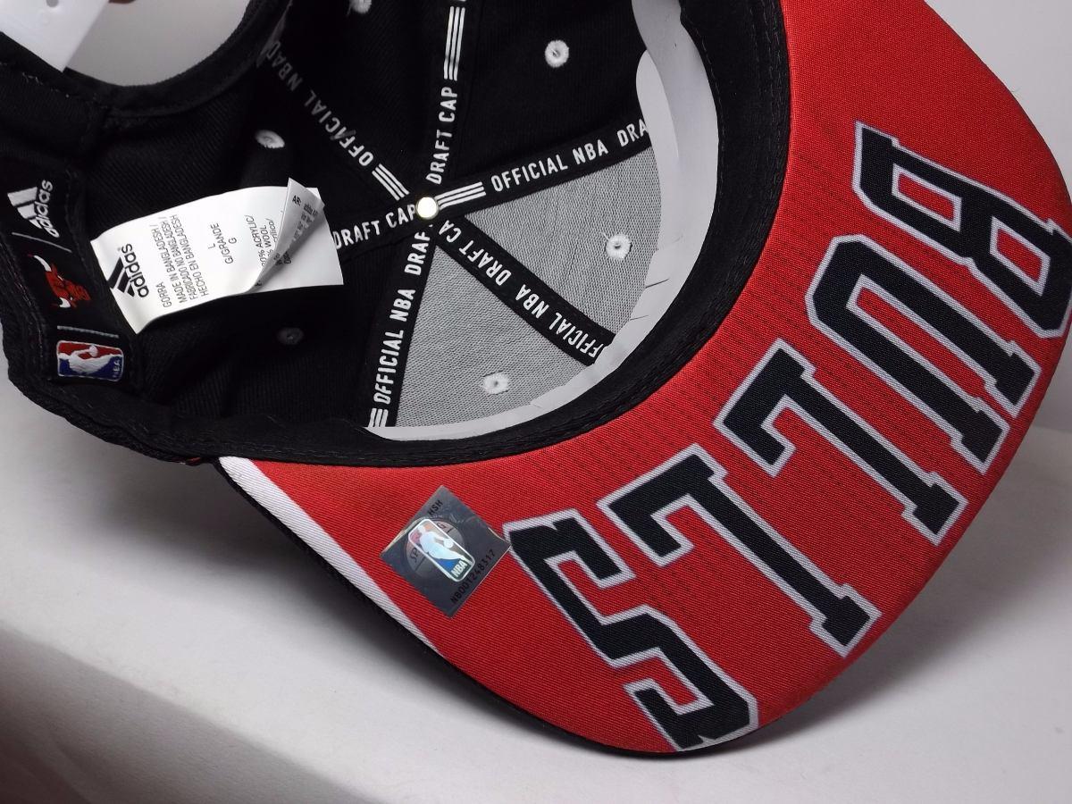 Gorra adidas Chicago Bulls Logo Nba Autentica -   499.00 en Mercado ... 240f61afe58