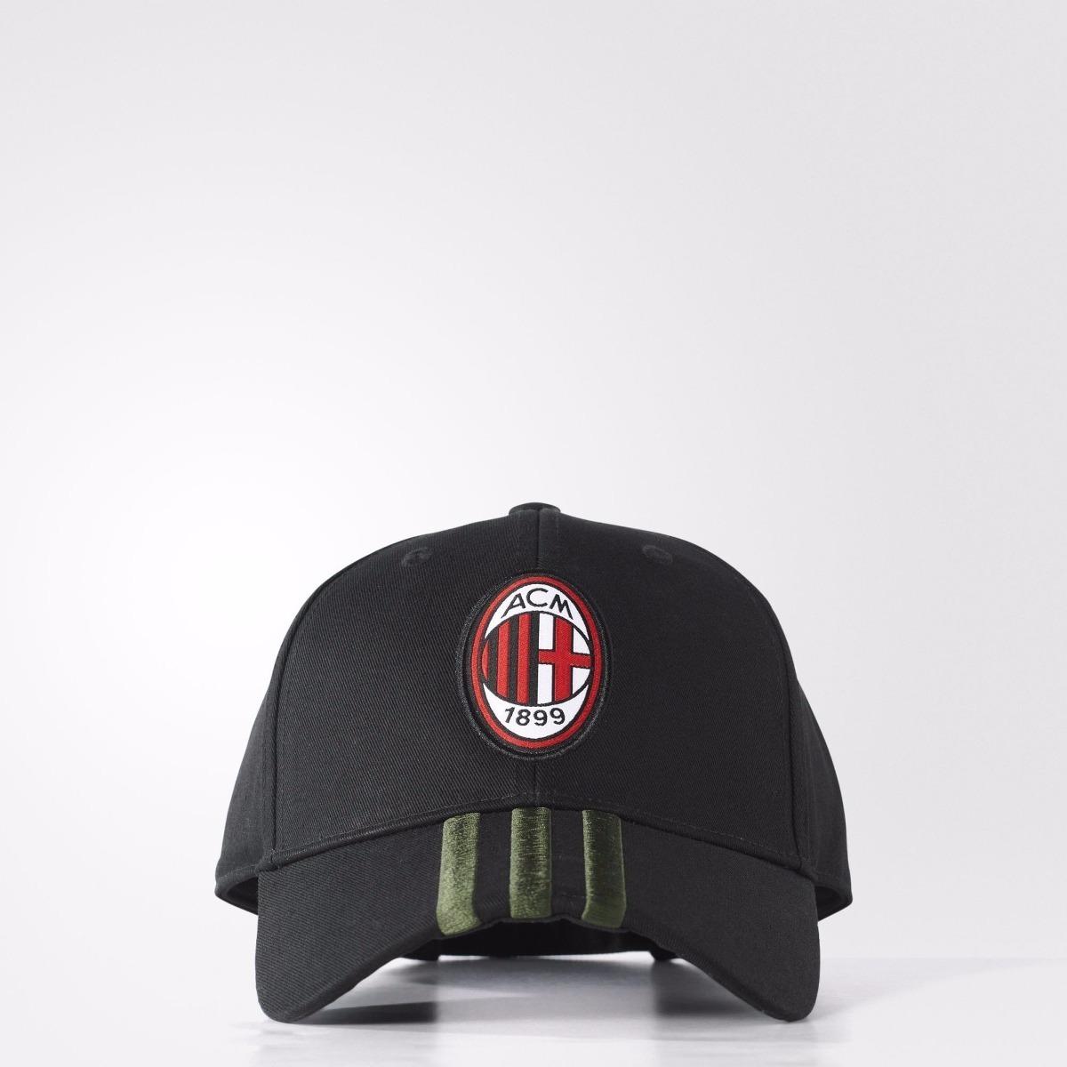 cc016c7ff34 Gorra adidas Del Ac Milan -   299.00 en Mercado Libre