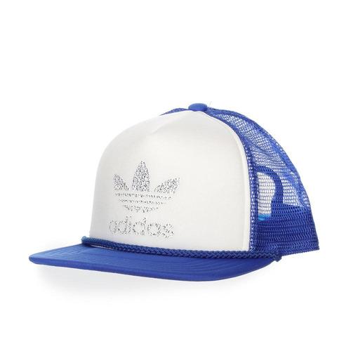 gorra adidas h trucker - bk7355 - azul - unisex