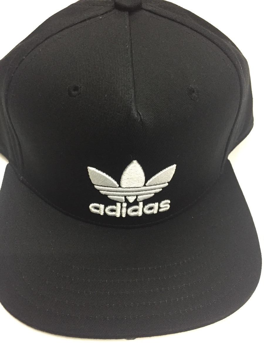gorra adidas original s 100%original visera plana negra. Cargando zoom. c10bb39562a