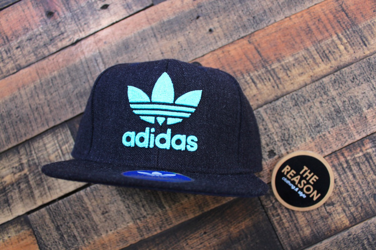 gorra adidas originals azul bordada original the reason. Cargando zoom. c50021cbba2