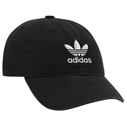 Gorra adidas Originals, Mujer, Relajado, Talla Única, Negro