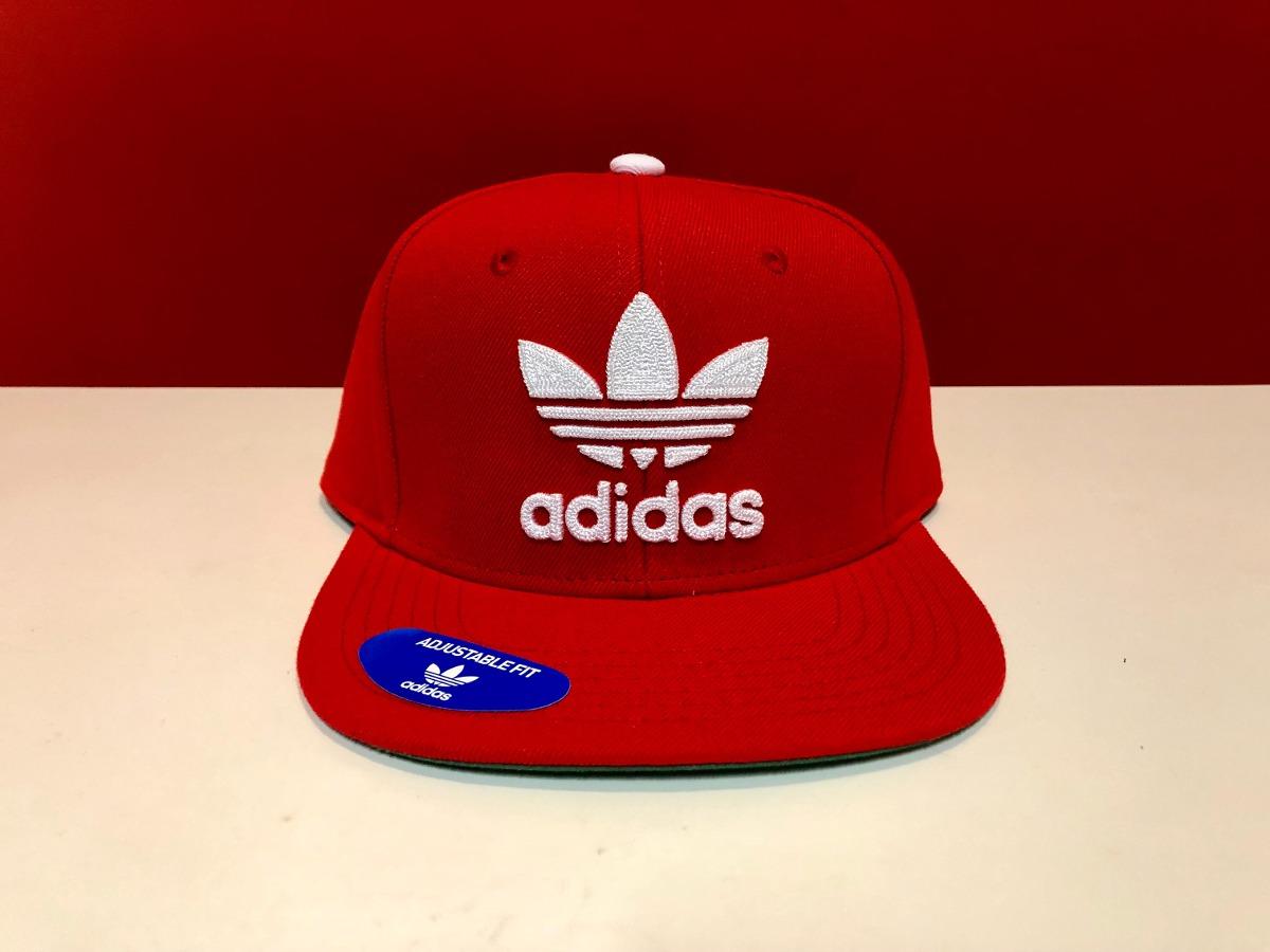 sale retailer 1603d 82cd1 gorra adidas originals snapback nueva original color roja. Cargando zoom.