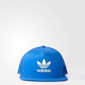 dbfeaafa9 Gorras Adidas Trucker Trifolio - Gorros y Sombreros Azul en Mercado ...