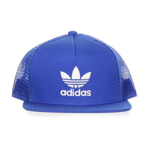 gorra adidas trefoil trucker - bk7303 - azul - unisex