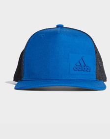 355fabd53 Gorra Adidas Trucker Azul en Mercado Libre México