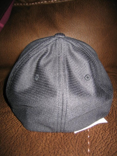 gorra aeropostale negra con bordado l/xl flexfit ( 040 )