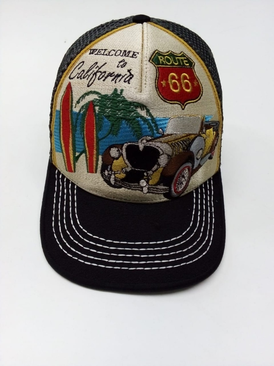 Gorra Aivot Linea Retro Modelo Route 66 California -   887.00 en ... a02968b78ad