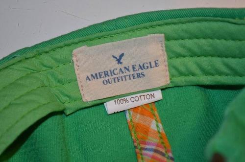 gorra american eagle baseball visera curv importada original