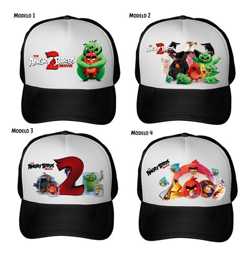 gorra angry birds movie 2 moda unisex varios modelos