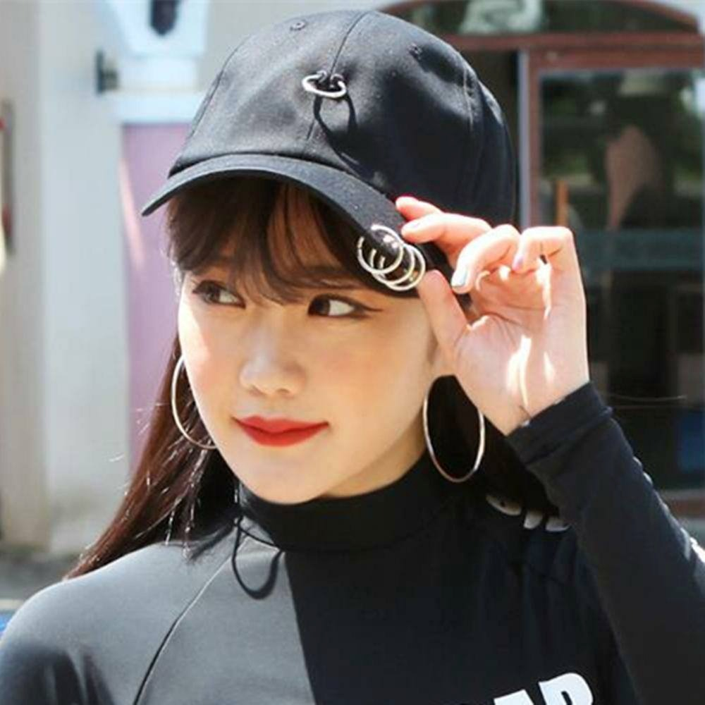 nueva especiales descuento de venta caliente apariencia estética Gorra Anillos Kpop Harajuku Bts Negra Rosa Roja Blanca