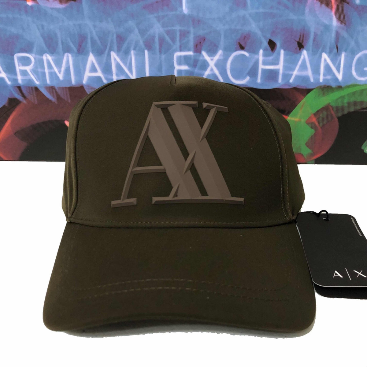 gorra armani exchange 100% original cc518 rubber logo. Cargando zoom. 51f3c6f0dbd