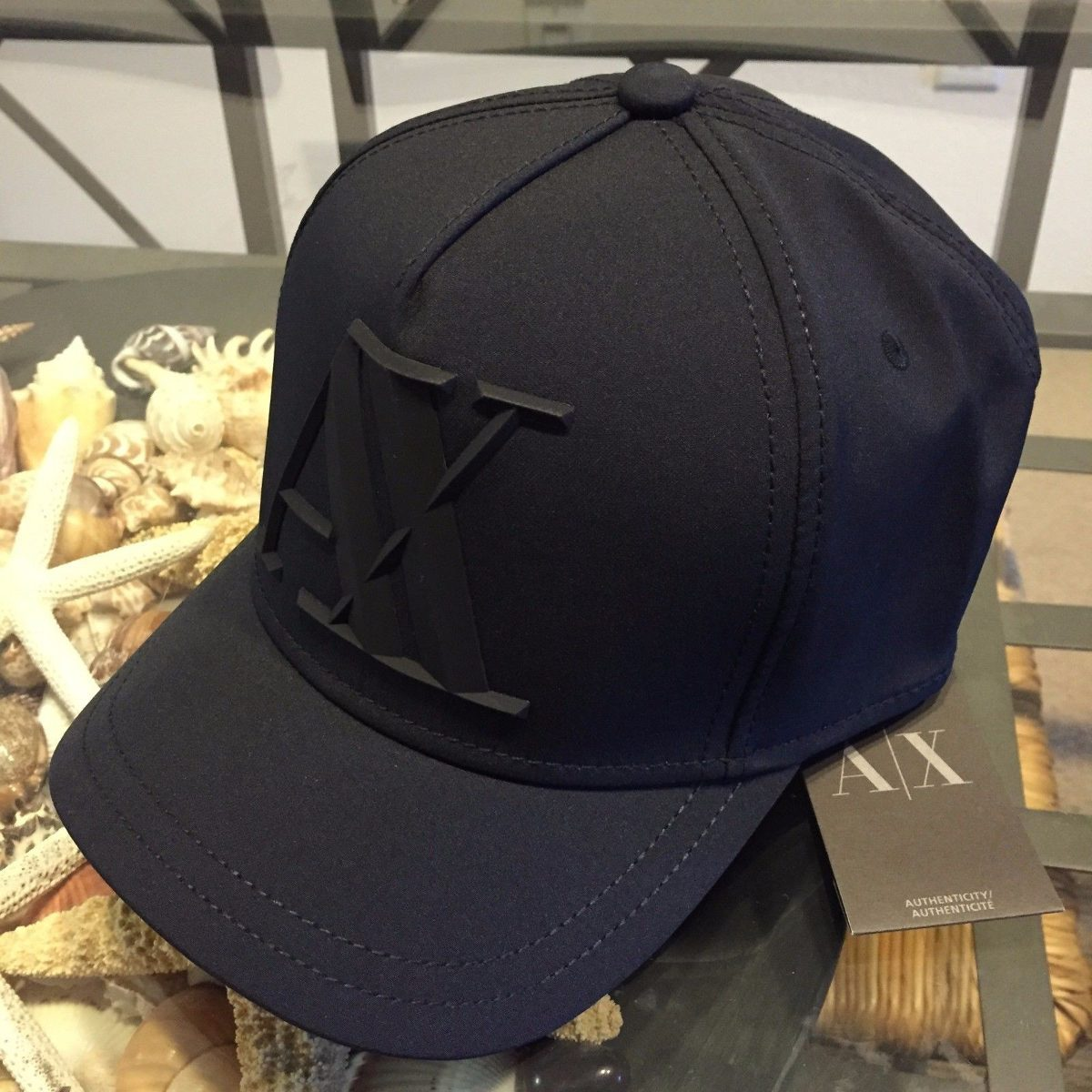 Gorra Armani Exchange Black Baseball / Bajo Pedido_exkarg