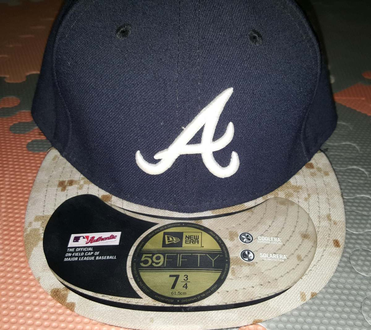 Gorra Atlanta Braves 7 3 4   61 Cm New Era -   400.00 en Mercado Libre 030c7b231bd