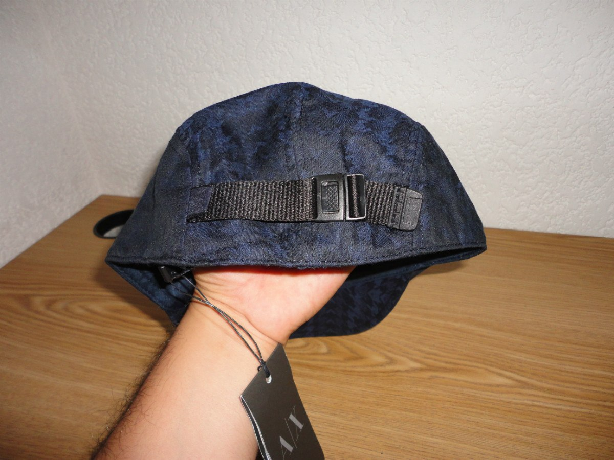 gorra ax armani exchange (hounds tooth driver´s)100%original