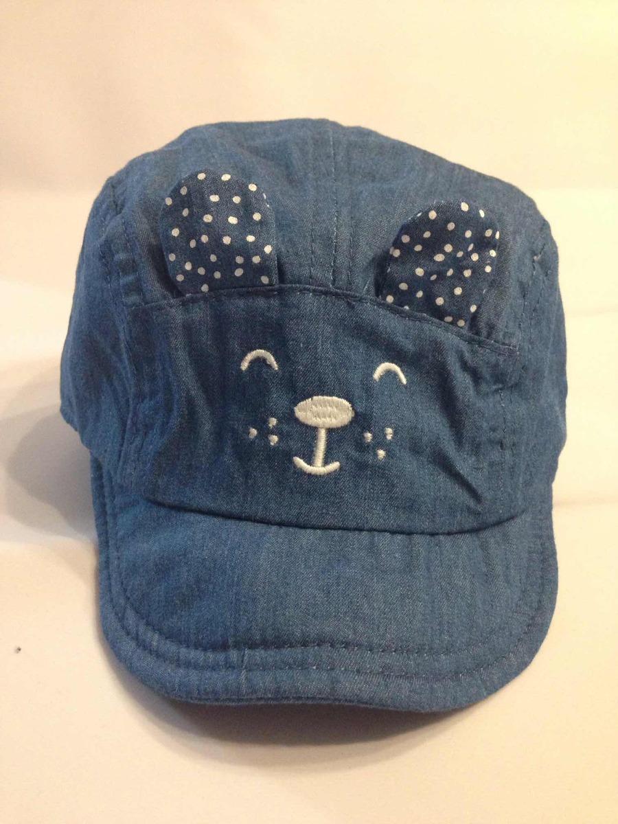 fc132a83e8084 Gorra Bebe Niña Zara Girls Baby Azul -   115.00 en Mercado Libre