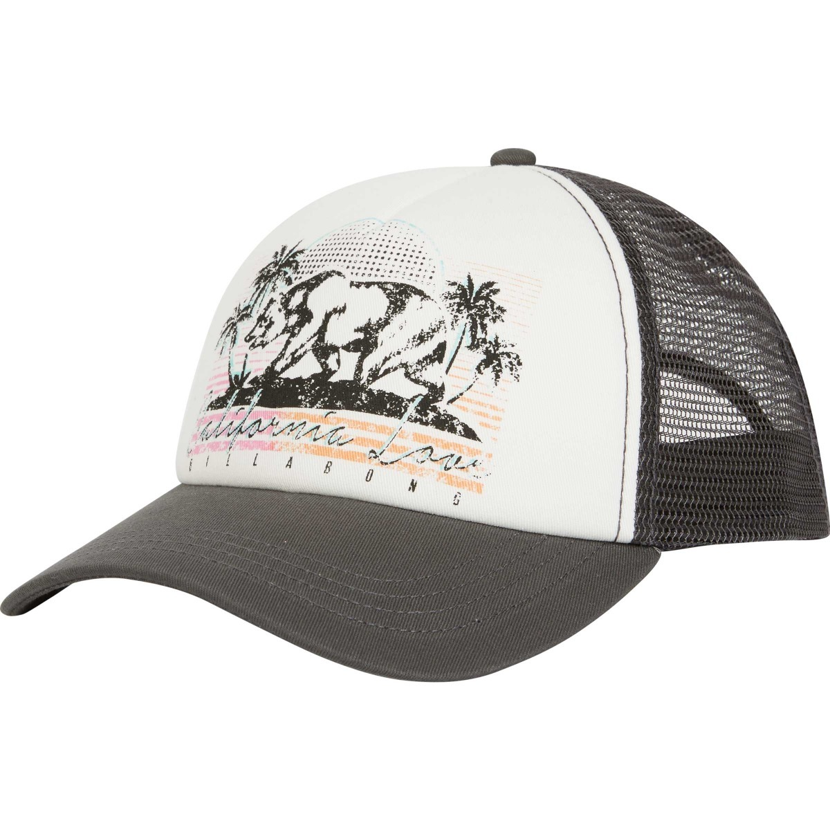 Gorra Billabong Retro Bear Trucker Grey Mujer Jahwnbre -   599 a41a2978dab