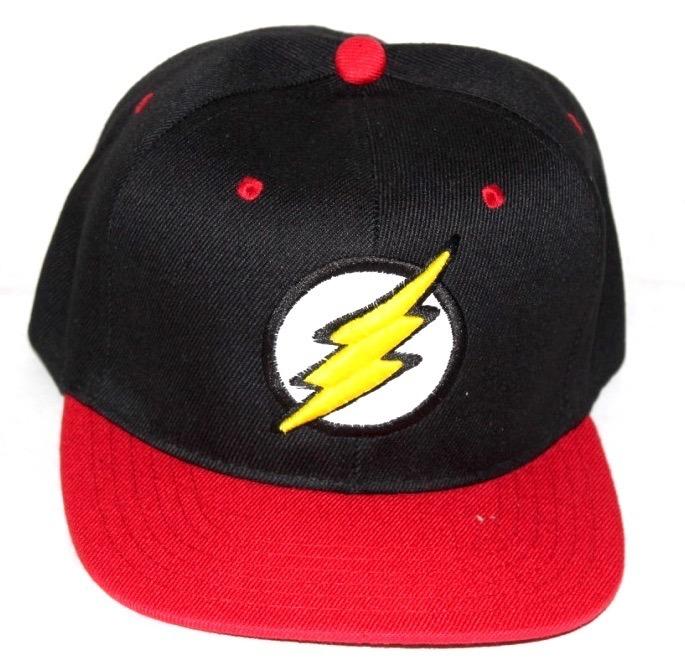 Gorra Bordada Dc Flash T Toys Negra Liga De La Justicia -   88.49 en ... 728952af32a