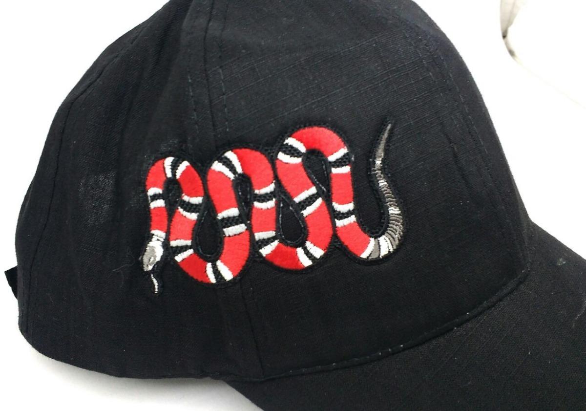 gorra bordado 3d serpiente gucci snapback foto real. Cargando zoom. 1e4ef056b3e