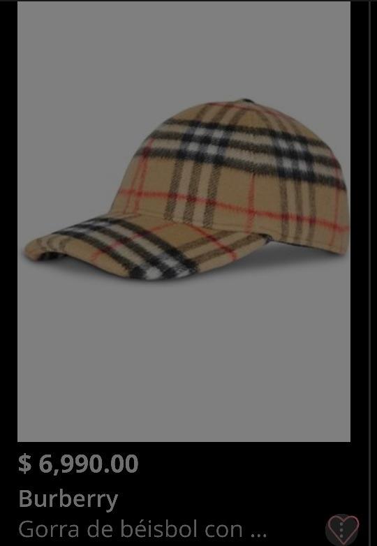 Gorra Burberry %100 Original -   1 dce21a5b770