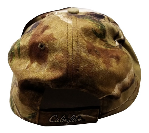 gorra cabelas bordada original caza pesca