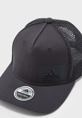 gorra cachucha adidas tipo trucker gris