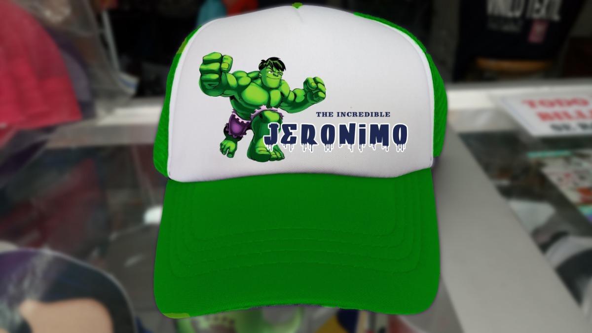 Gorra Cachucha Personalizada Para Niño Diseño Hulk -   16.000 en ... bd12d372fb9