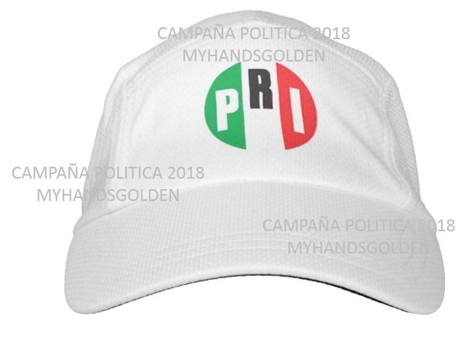 Gorra Campaña Politica O Eventos 2018 Pri -   9.09 en Mercado Libre 888cdfc8342