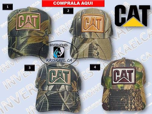 gorra camuflada caballero cat/bassproshop * tienda física*