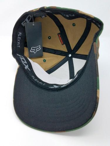 gorra camuflada multicam fox original usa - flexfit