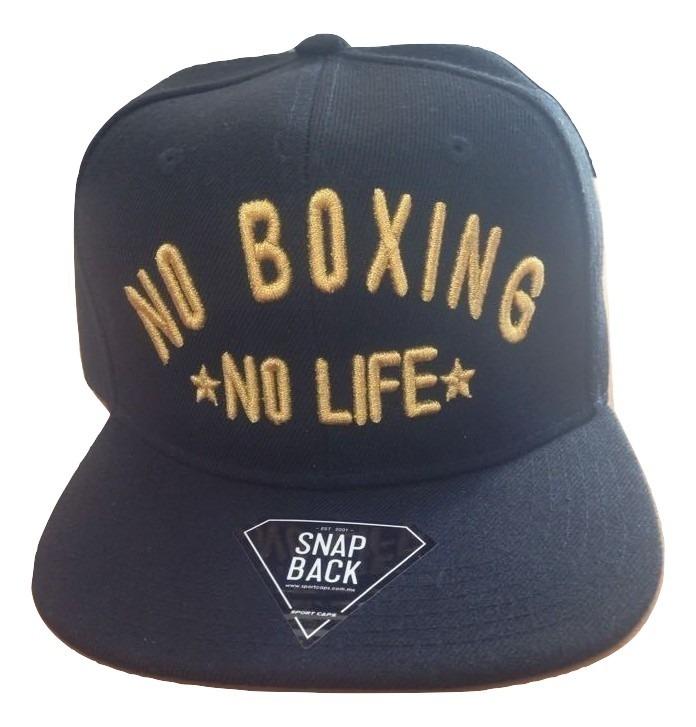 Gorra Canelo Alvarez No Boxing No Life Black Snapback Boxeo ... 305cf120f28