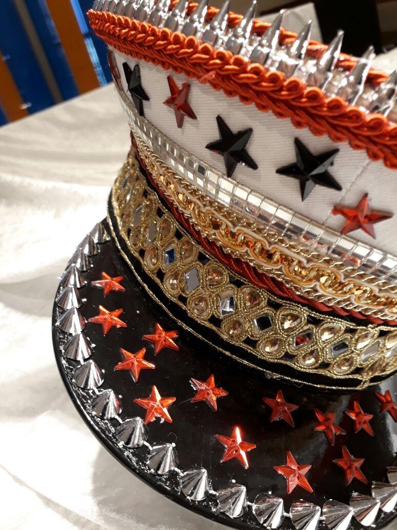 gorra capitan diseño estrellas - festival - fiestas. Cargando zoom. 645bbc72684