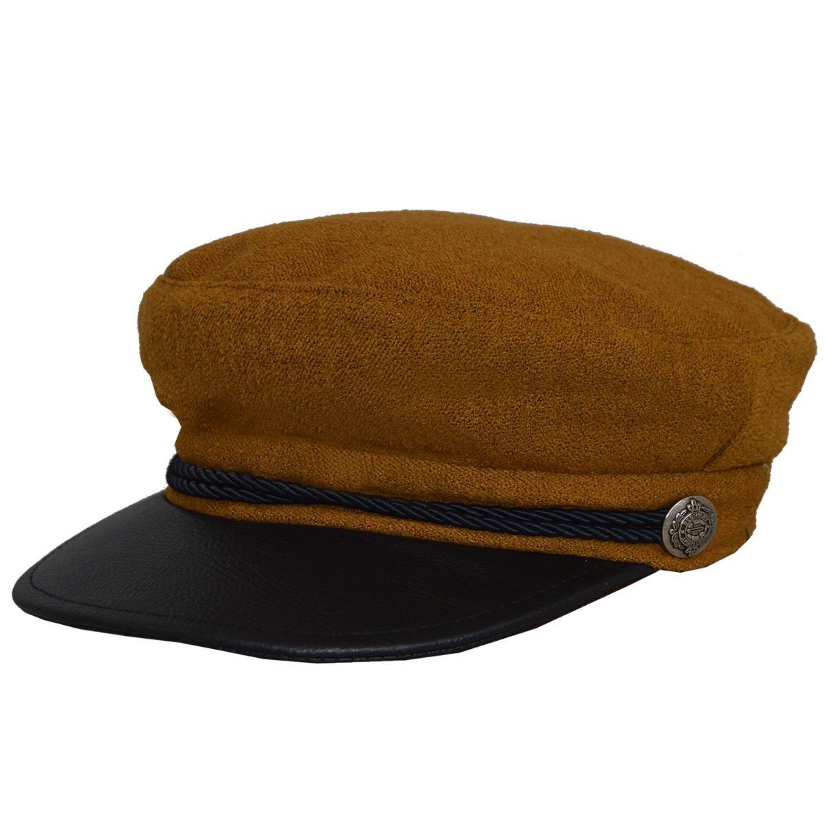 c6cfe18dcbc42 gorra capitan paño clasica compañia de sombrero h711521g. Cargando zoom.