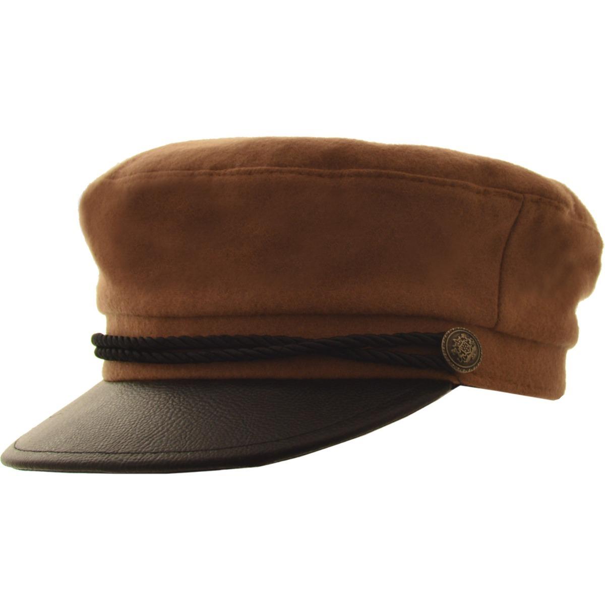 cfcdbea9470df Características. Marca Compañia de Sombreros  Modelo Gorra Capitan Paño  Clasica ...